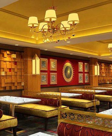 Hotel Swati Deluxe Classy restaurant